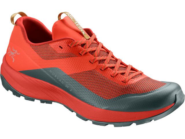 Arc'teryx Norvan VT 2 Shoes Men dyno red/yukon